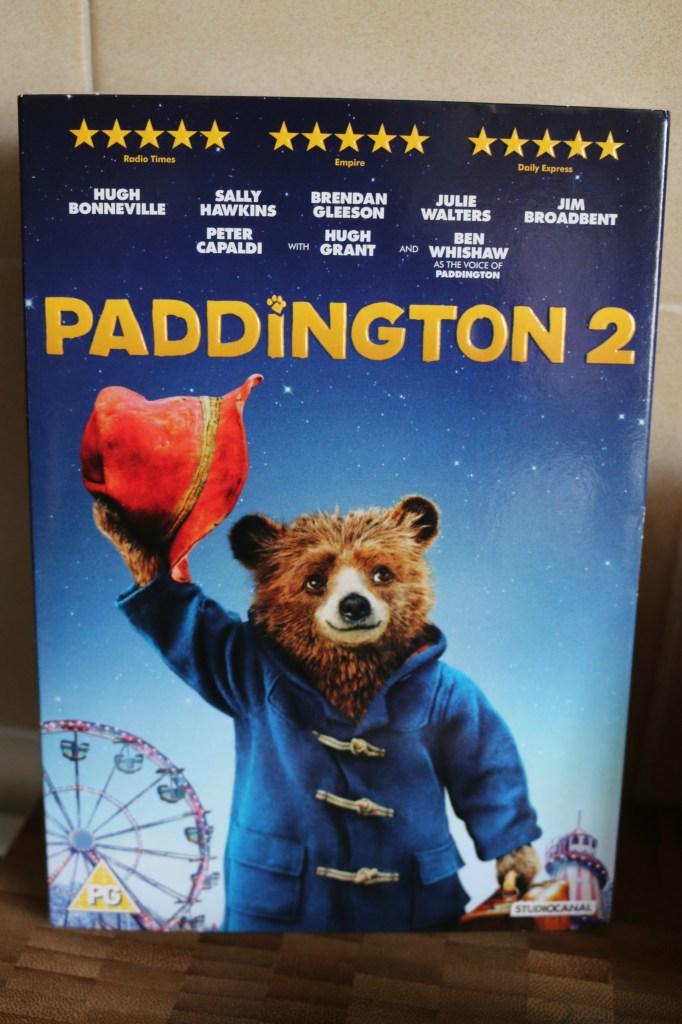 Having fun with Paddington 2 on DVD