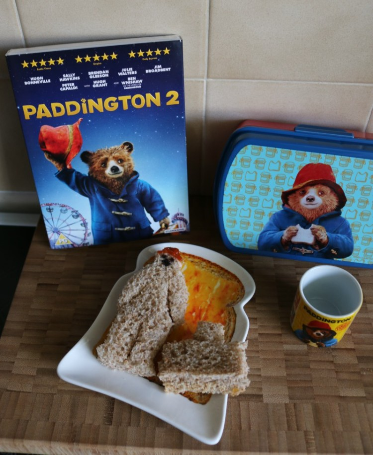 Having fun with Paddington 2 on DVD