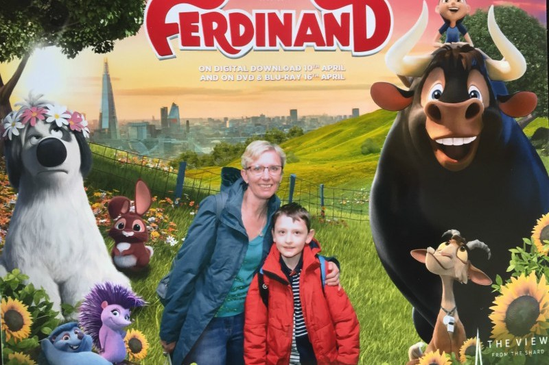 Celebrating the release of Ferdinand on DVD with The View from the Shard