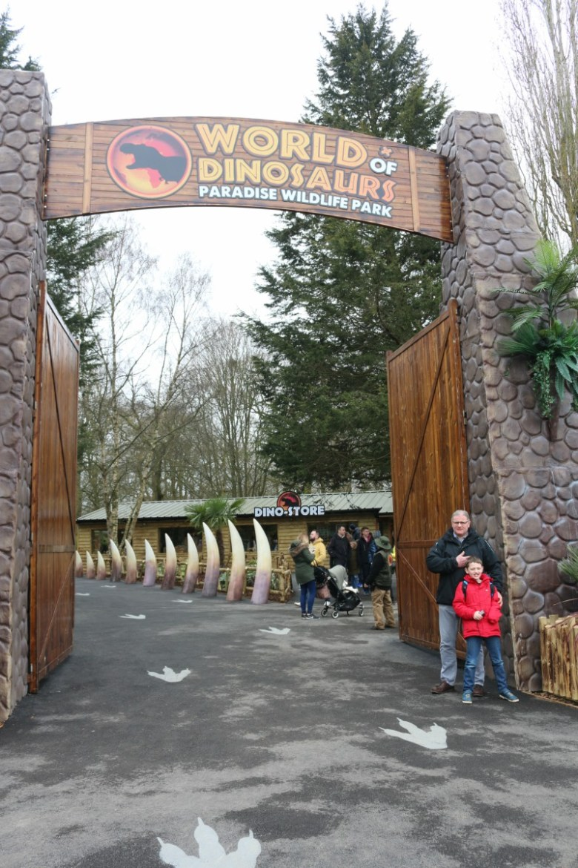 Enjoying the World of Dinosaurs and more at Paradise Wildlife Park
