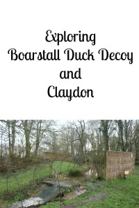 Exploring Boarstall Duck Decoy and Claydon