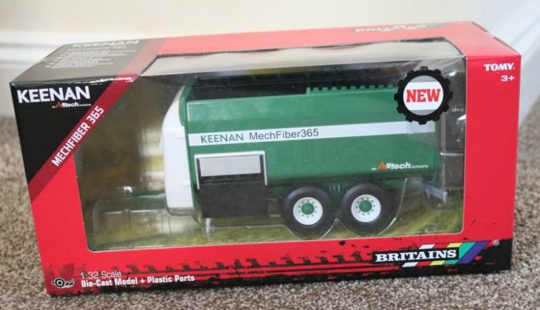 Keenan Mech Fiber 365 mixer wagon from Britains