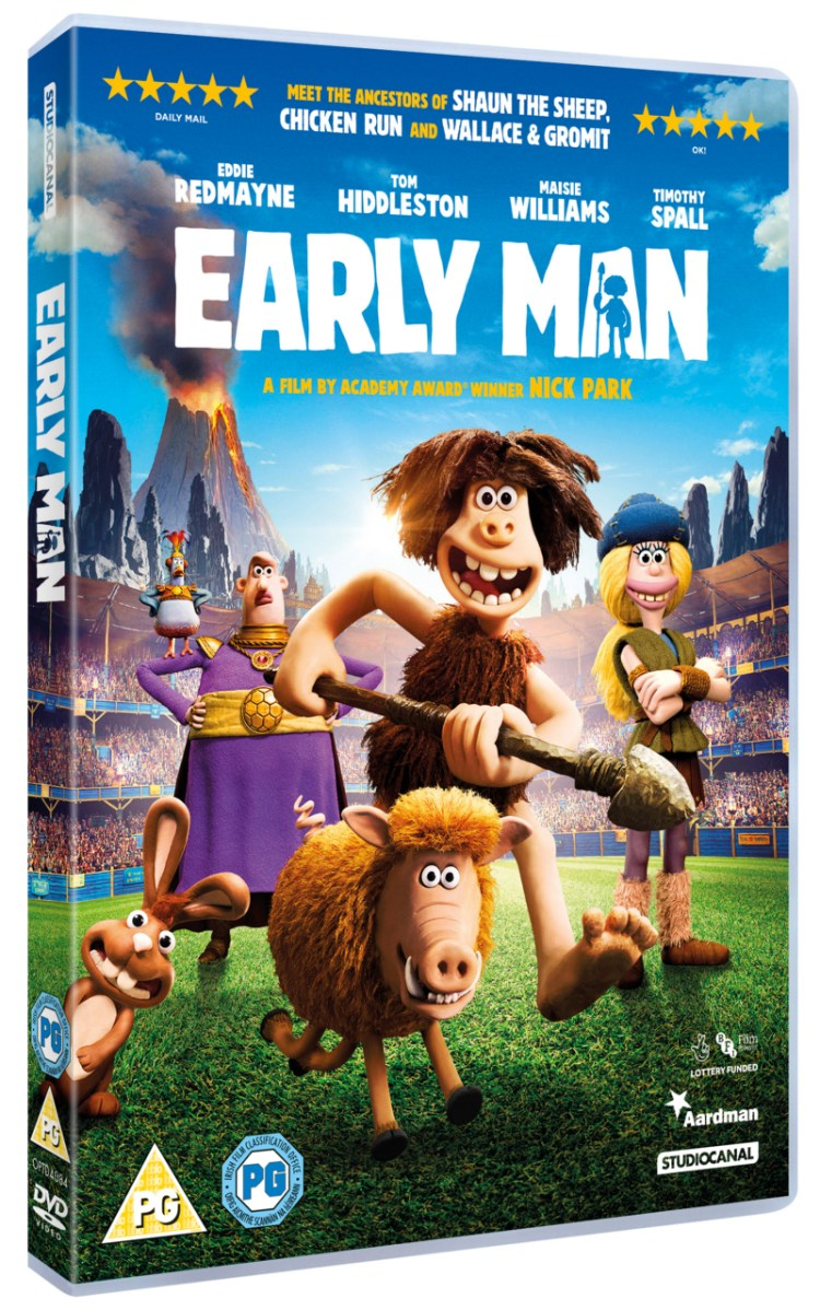Celebrating the Early Man DVD release with West Midlands Safari Park