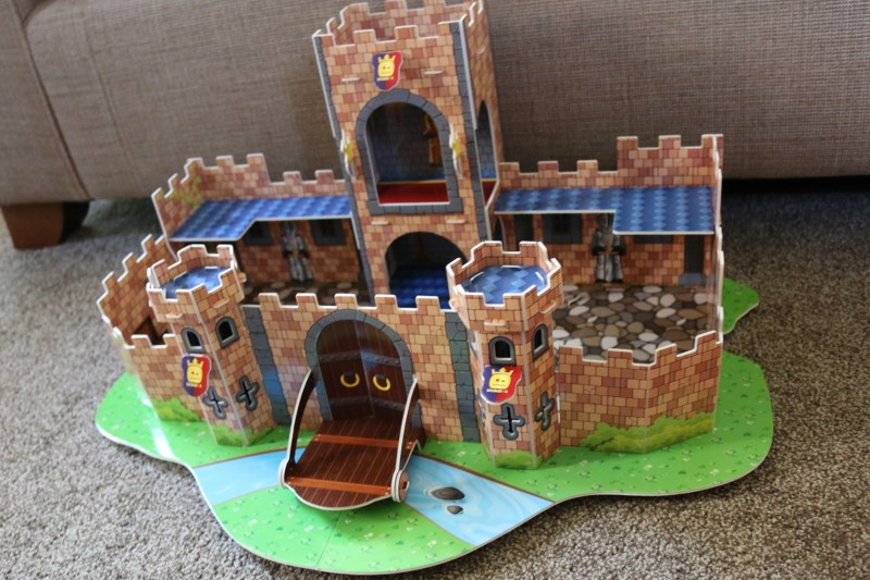 Having fun with the StikBot Castle Movie Set