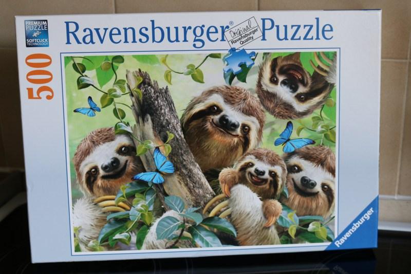 Sloth Selfie 500 Piece Puzzle