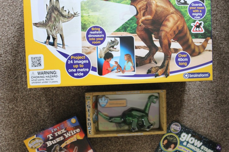 Dinosaurs Roar with the range from Brainstorm Limited