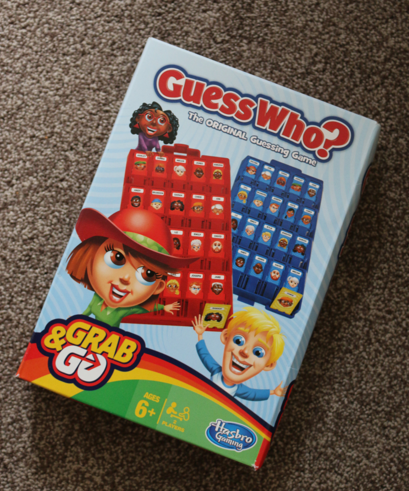 Grab & Go games from Hasbro - Guess Who?