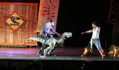 Enjoying Dinosaur World Live
