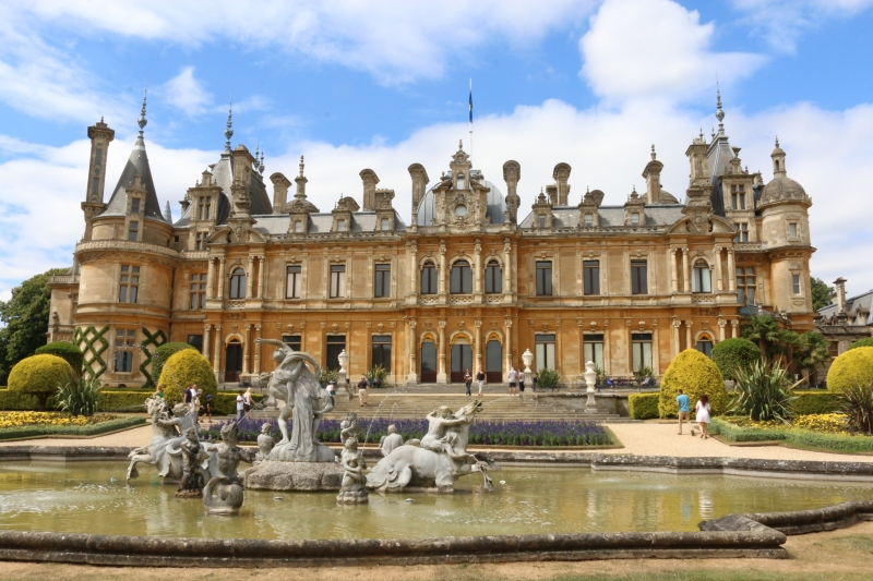 Enjoying Waddesdon Manor and the Manor Restaurant