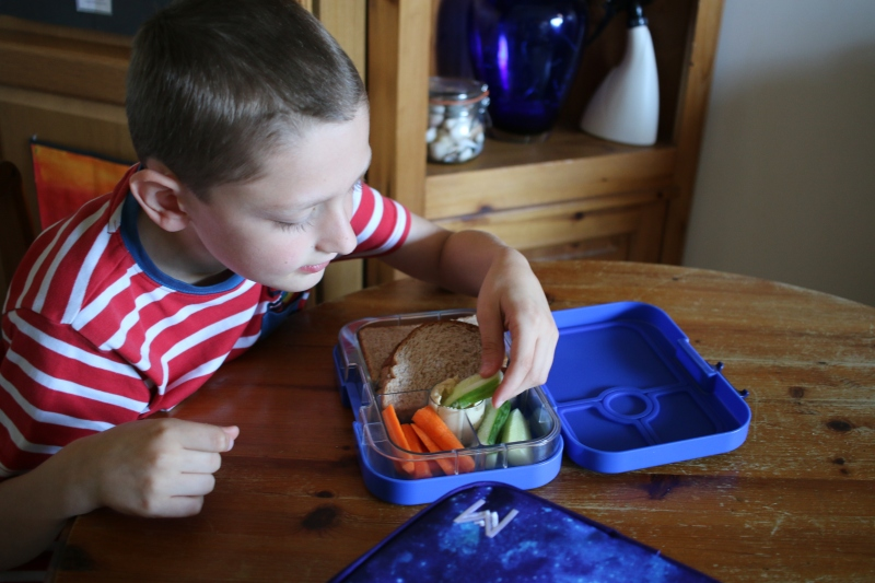 Packed lunch ready with Eat Well UK