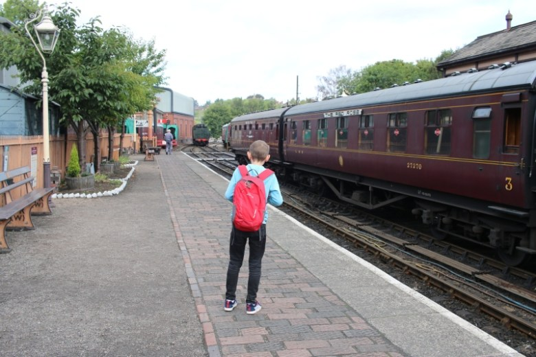 Steam Train adventures on the Severn Valley Railway