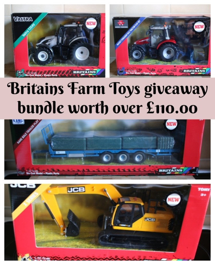 Britains Farm Toys giveaway bundle worth over £110.00