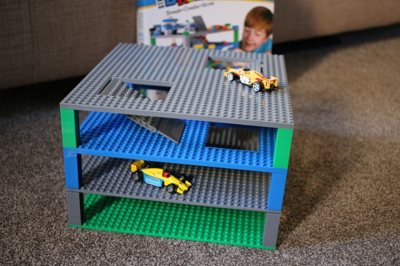 Having fun with Strictly Briks Trap and Gap Baseplates
