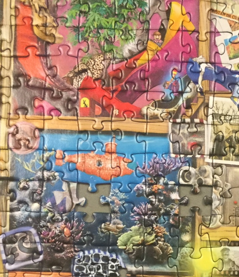 The Curious Cupboard No 6 The Collector's Cupboard 1000 Piece Puzzle