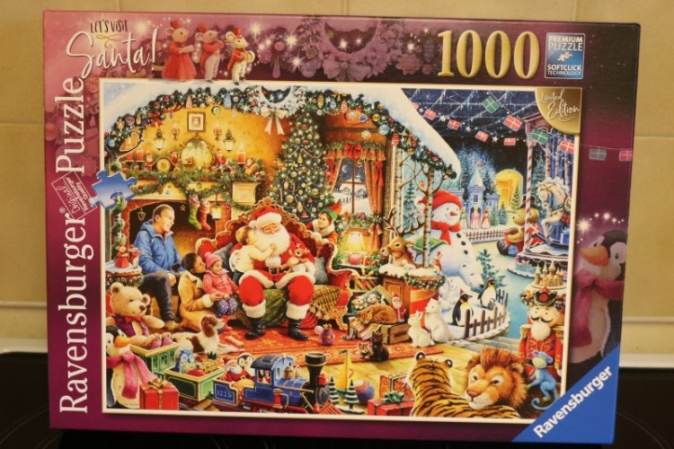 Lets Visit Santa Limited Edition 1000 piece puzzle