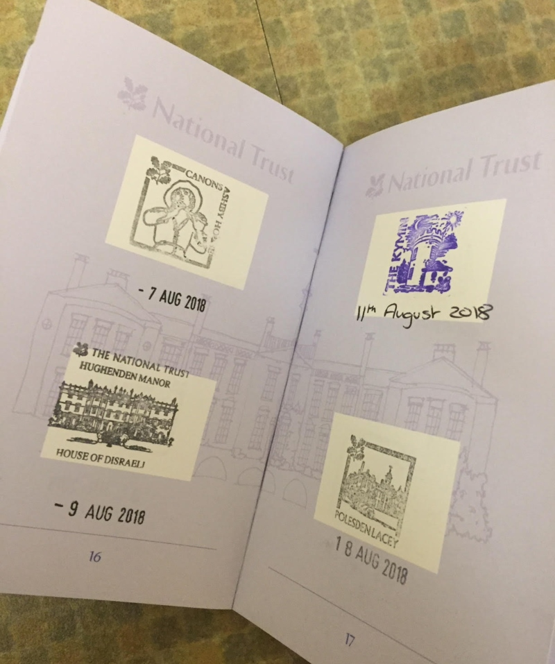 Making memories with a National Trust passport