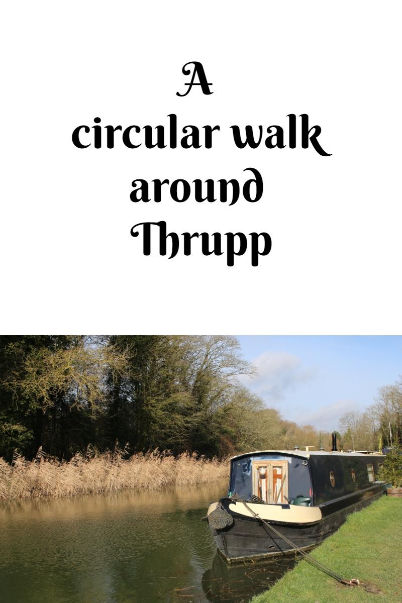 A circular walk around Thrupp