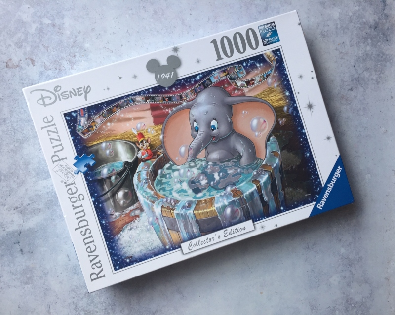 Disney Collector's Edition Dumbo 1000 piece puzzle