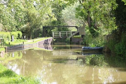 Lift bridge Oxford Canal