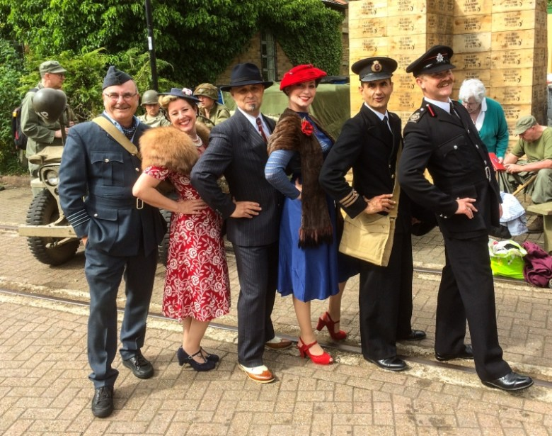 War on the Line with the Watercress Line