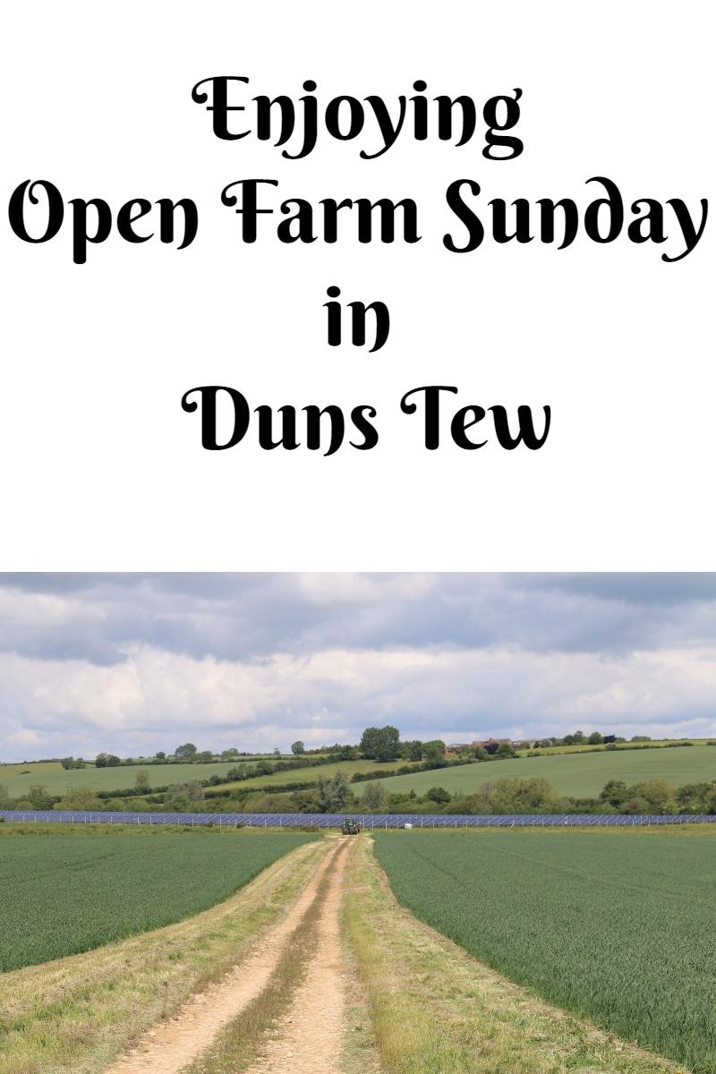 Enjoying Open Farm Sunday in Duns Tew