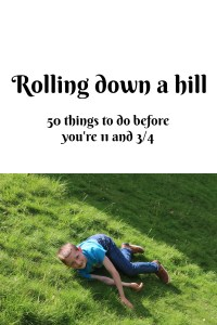 Rolling down a hill
