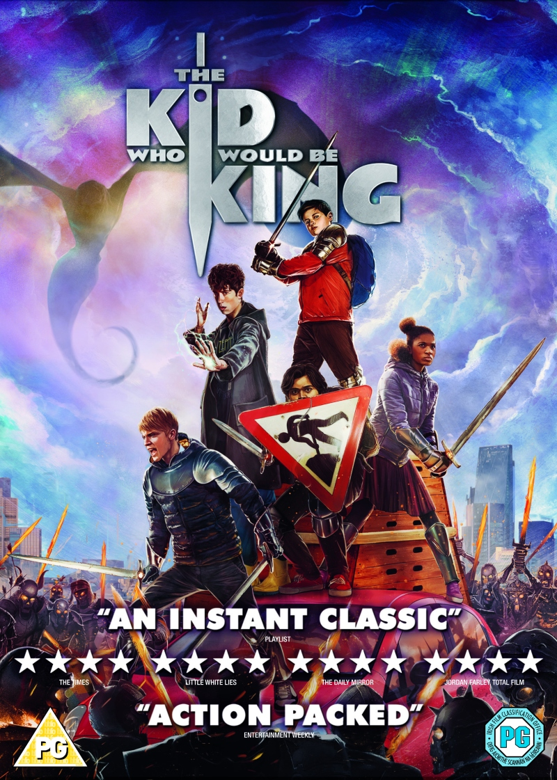 The Kid Who Would Be King DVD