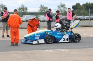 Enjoying a day at Formula Student