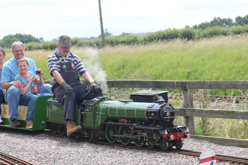 miniature loco at Bucks Railway Centre