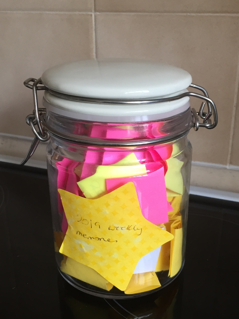 Remembering the little moments with a Memory Jar