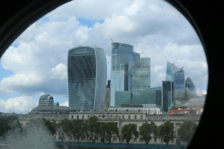 London Skyline from HMS BElfast