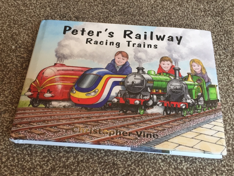 Peter's Railway Racing Trains signed copy