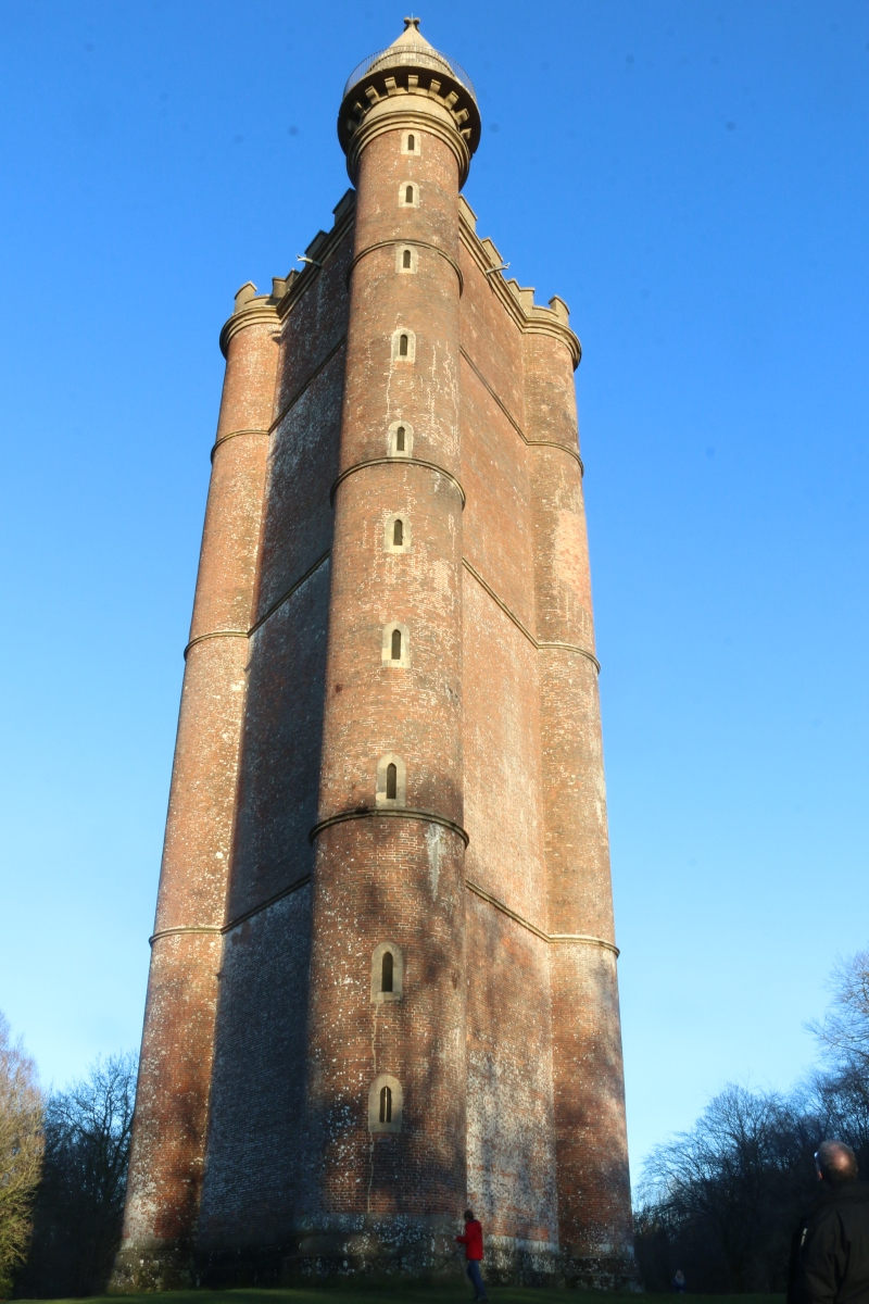 Visiting King Arthur's Tower