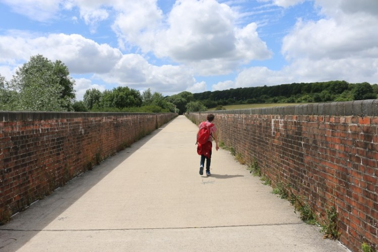 Exploring the Hockley Railway Viaduct Walk