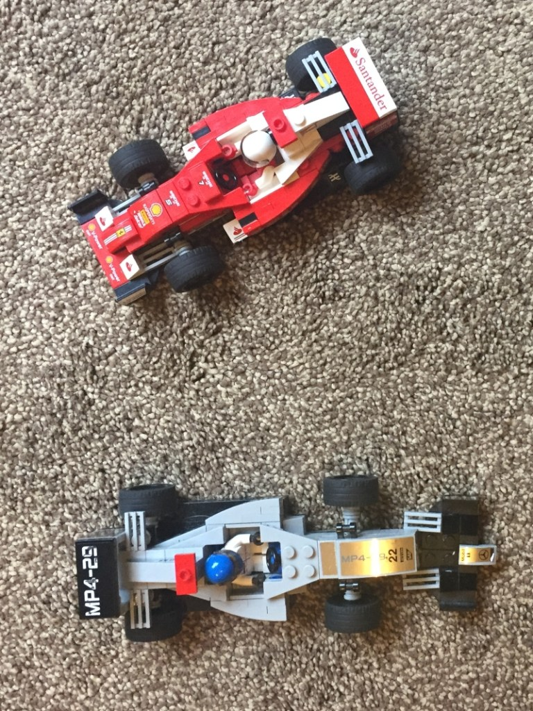 Lego F1 cars
