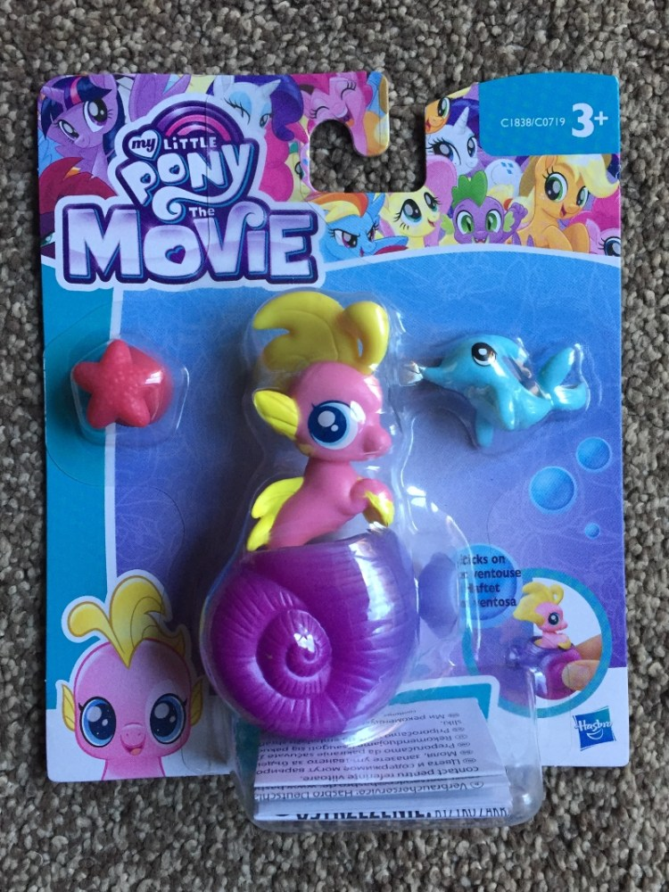My Little Pony The Movie Seapony Sea Foam set worth £9.00 giveway