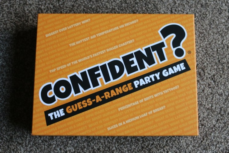 Confident? board game