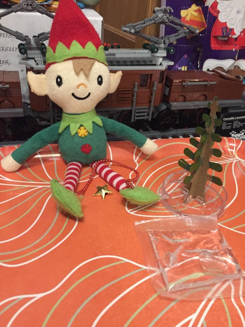 Elf Antics with Berry the Elf 2020 Day 23