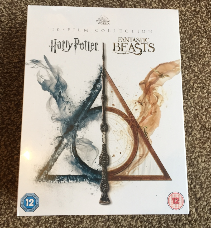 Wizarding World 10 Film box set of Harry Potter and Fantastic Beats films