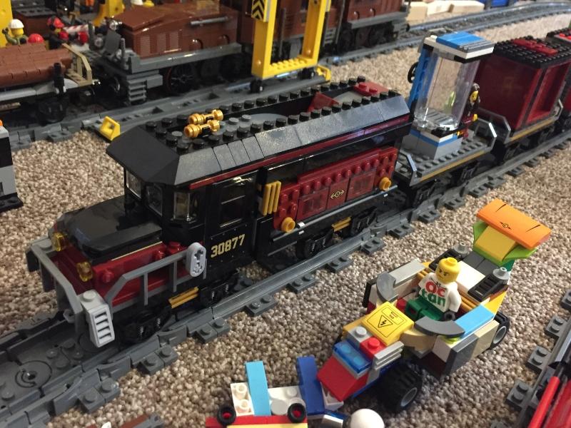 Lwgo Hidden Side train