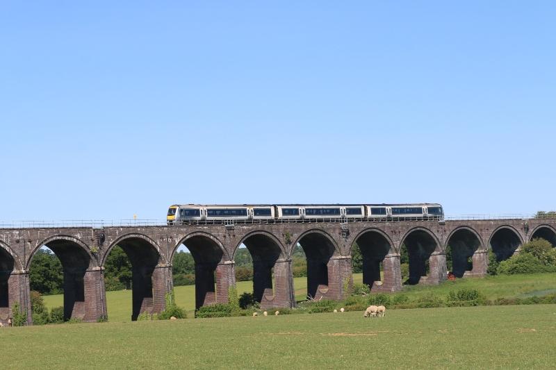 Exploring footpaths close to home - Souldern Viaduct walk