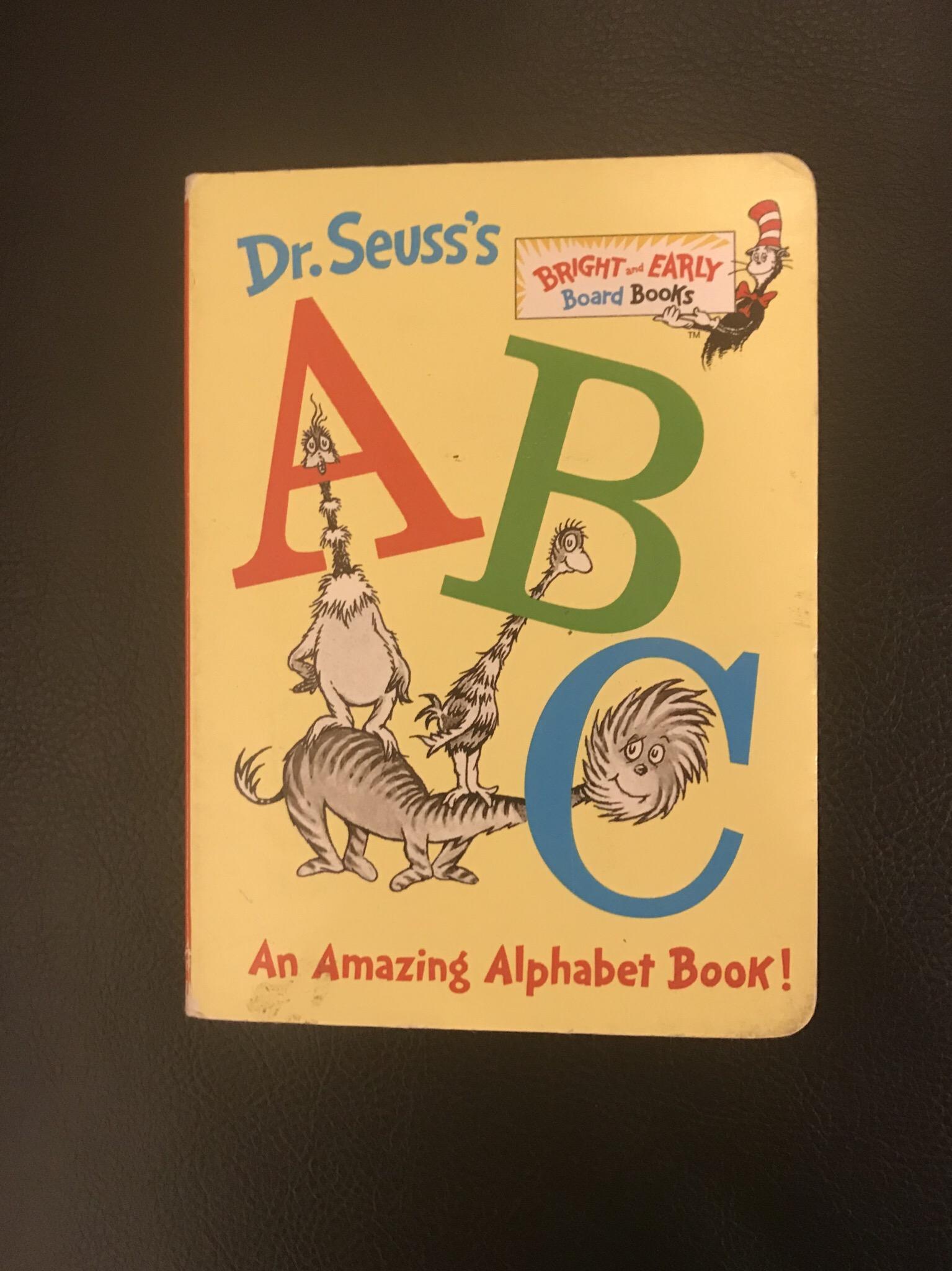 Dr Seuss S Abc An Amazing Alphabet Book Book Review