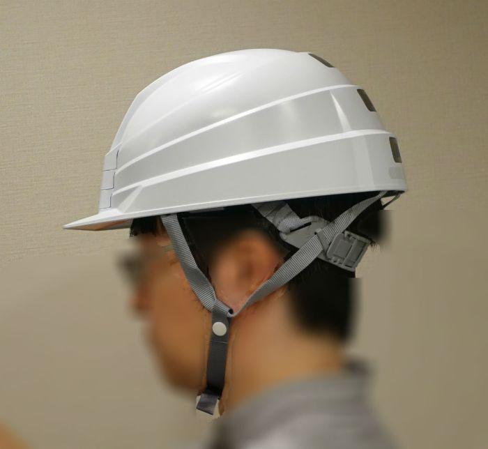 DIC Helmet IZANO かぶってみた 側面