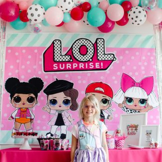 L.O.L. Surprise! Makeover Birthday Party
