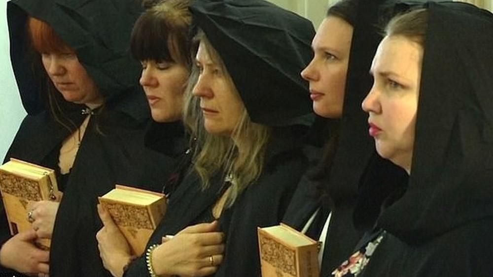 Bruxas a favor de Putin
