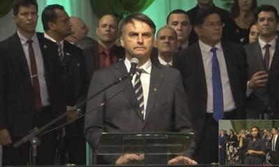 Jair Bolsonaro no Gideões 2019