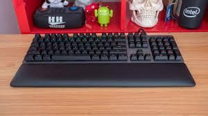 Teclado mecânico para gamers da Logitech teclado 2