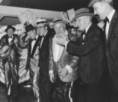 Jimmy Durante with Greater Overbrook String Band