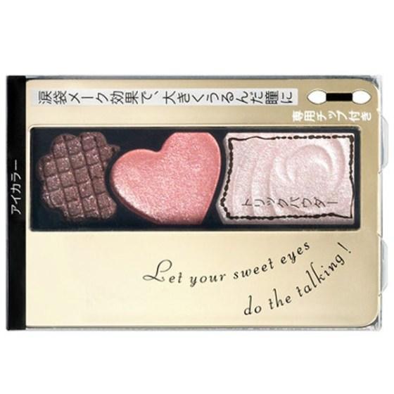 Integrate 甜蜜晶透光眼影盒 PK212