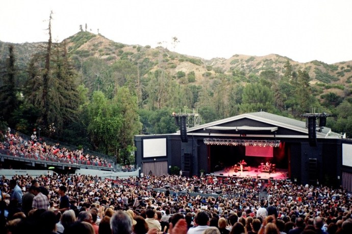 greek theatre, LA